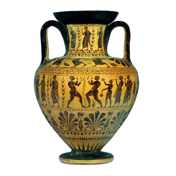 Etruscan Grecian And Roman Wedding Ideas: Black-figure. Etruscan, About 510-500 BC Found At Vulci