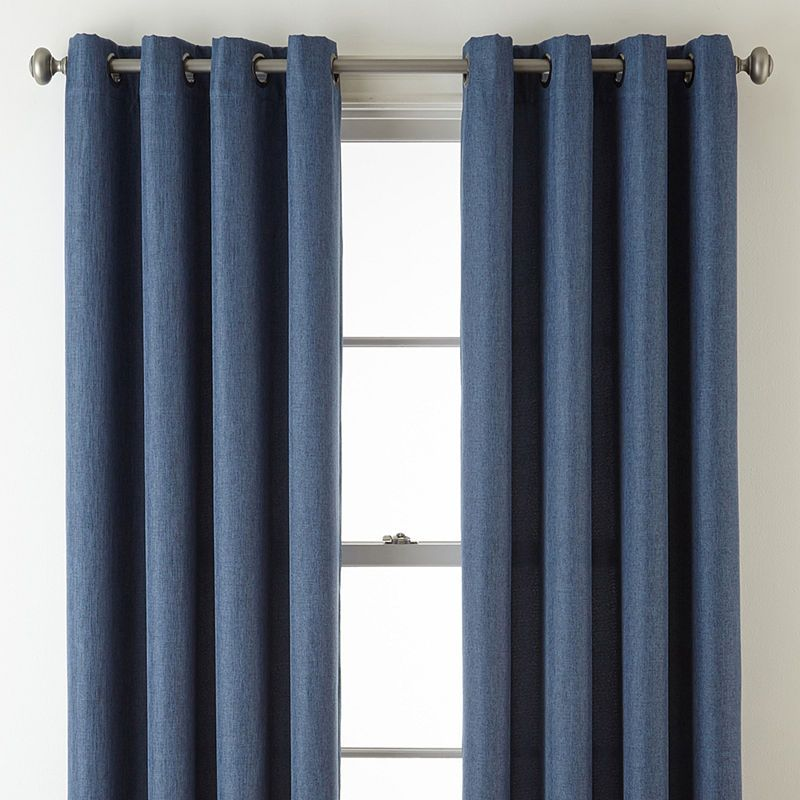 Jcpenney Home Pasadena Blackout Grommet Top Curtain Panel