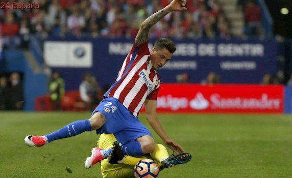 Giménez, tres semanas KO, no jugará ante el Real Madrid
