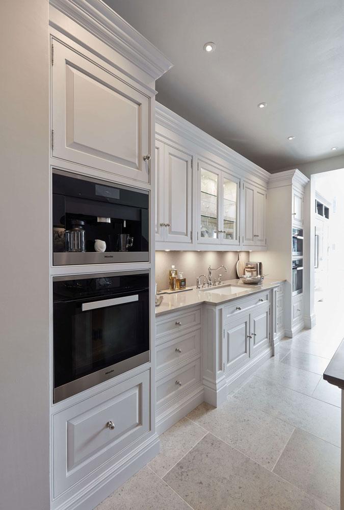 Luxurious White Kitchen | Tom Howley
