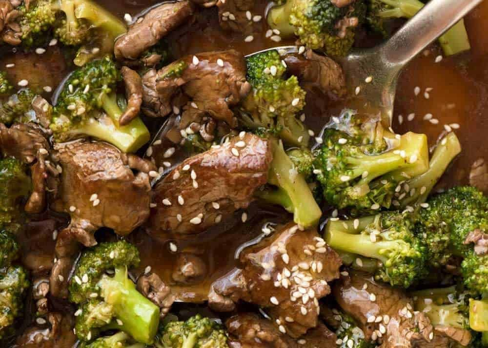Chinese Beef and Broccoli #beefandbroccoli