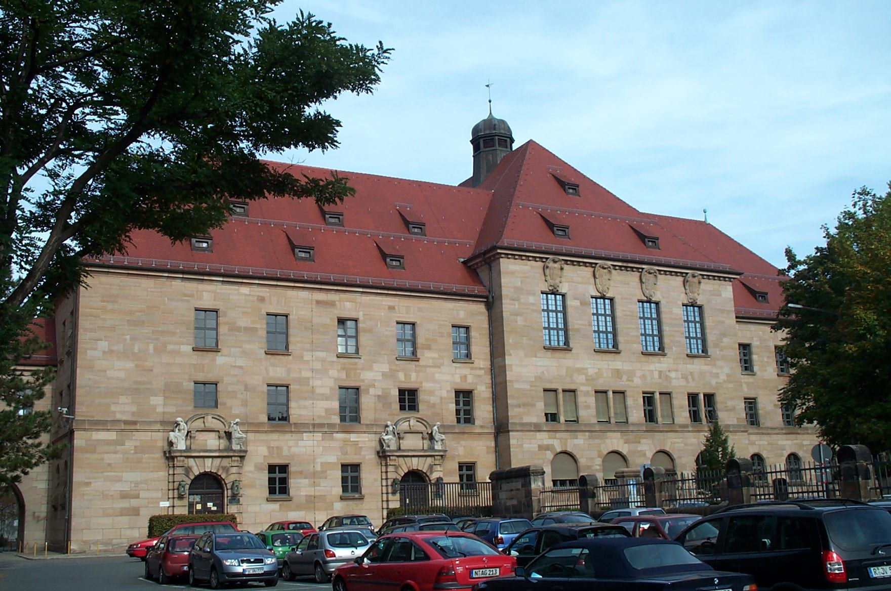 Palace of Justice, Nurnburg, Germany, October 2006. Trials of Nazis held here.