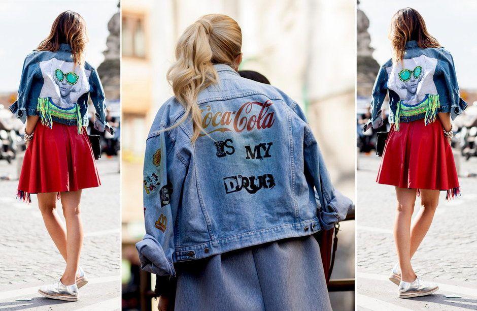 Jeansowa Kurtka Lubi Lato Fashion Jackets Denim Jacket