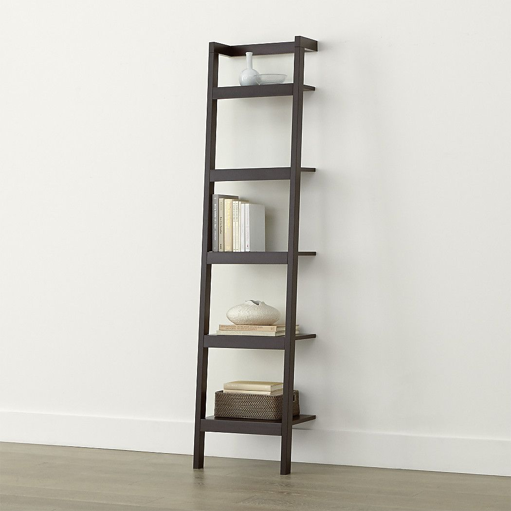Space saving clean looking sawyer uses an ingenious leaning modular design to creatively solve storage solutions throughout the home