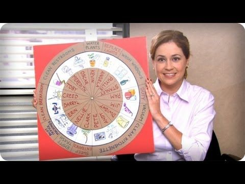 Wheel of Chores - The Office. #TheOffice | Video Clips | Pinterest ...