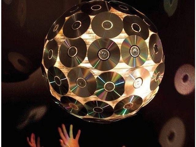 Bien connu Découvrez 34 idées géniales pour recycler vos vieux CD et DVD  IL04