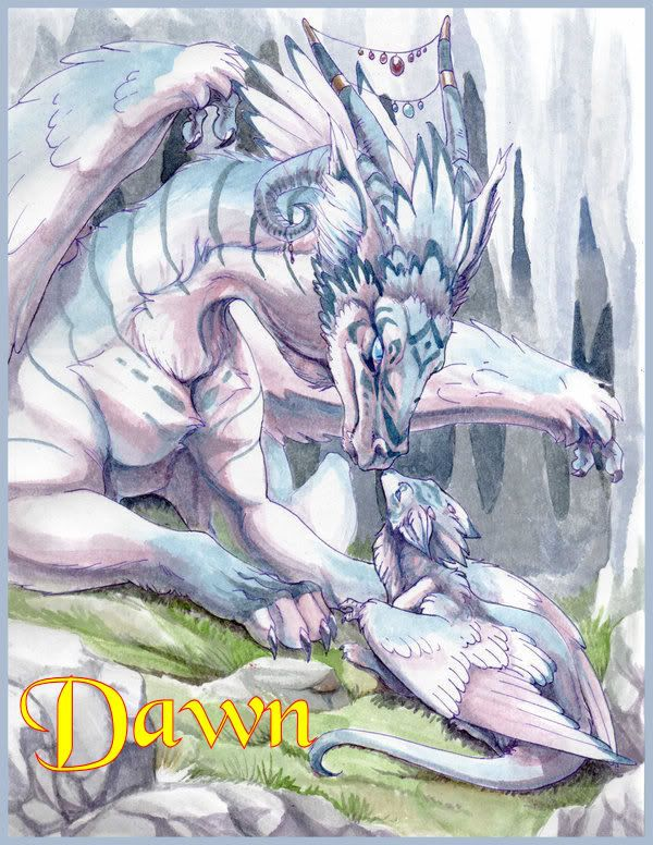Dragon Mother Child Dawn Dragon Dragon Pictures
