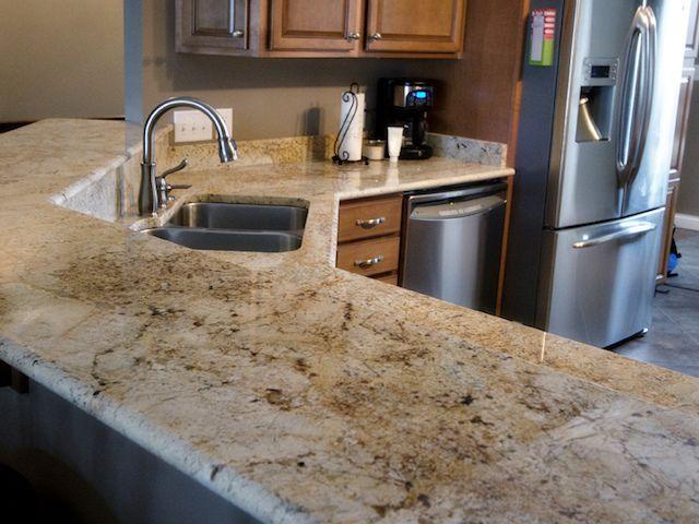 Best Colonial Cream Granite Countertops Design Ideas 400 x 300