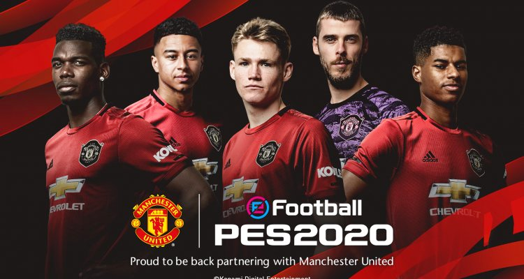 Efootball Pes 2020 And Manchester United Together Announced Partnership Manchester United Team Manchester United Pro Evolution Soccer