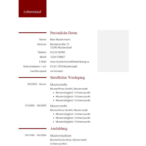 Pin Von Job Resume Auf Job Resume Samples: Pin Von Tabellarischer Lebenslauf Auf Lebenslauf Muster