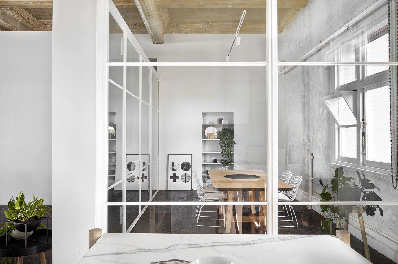 The Stella Collective S Own Studio In Melbourne S Prahran Best Interior Design Websites Office Interior Design Design Studio Office