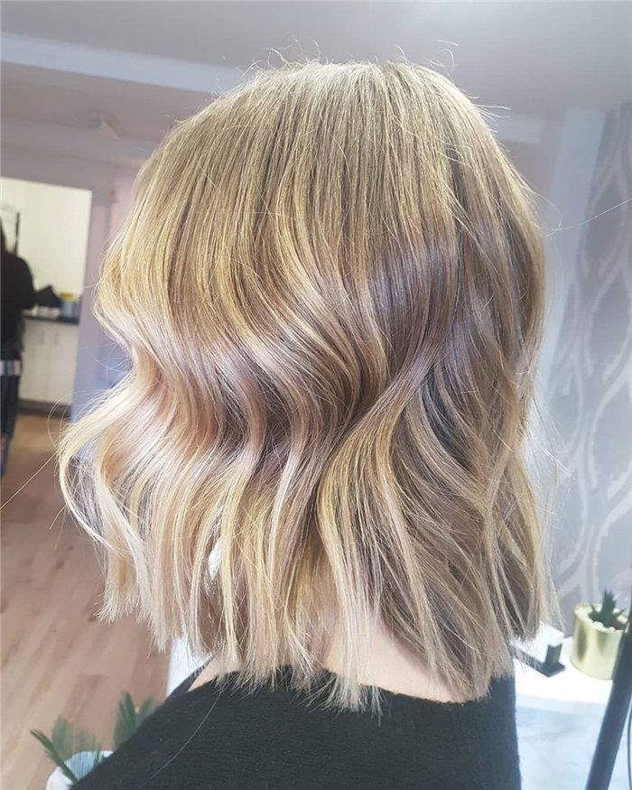 Wedding Hairstyle Lob: 90+ Stylish Lob Haircuts &Hairstyle Ideas 2019, #Lob