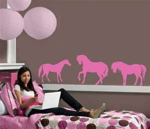 7 Things We Should Know To Decorate Girls Rooms : Horse Decor For Girls  Room. Cheerful Atmosphere,flexible Design,girls Room Wall Decor,horse Decor  For ...