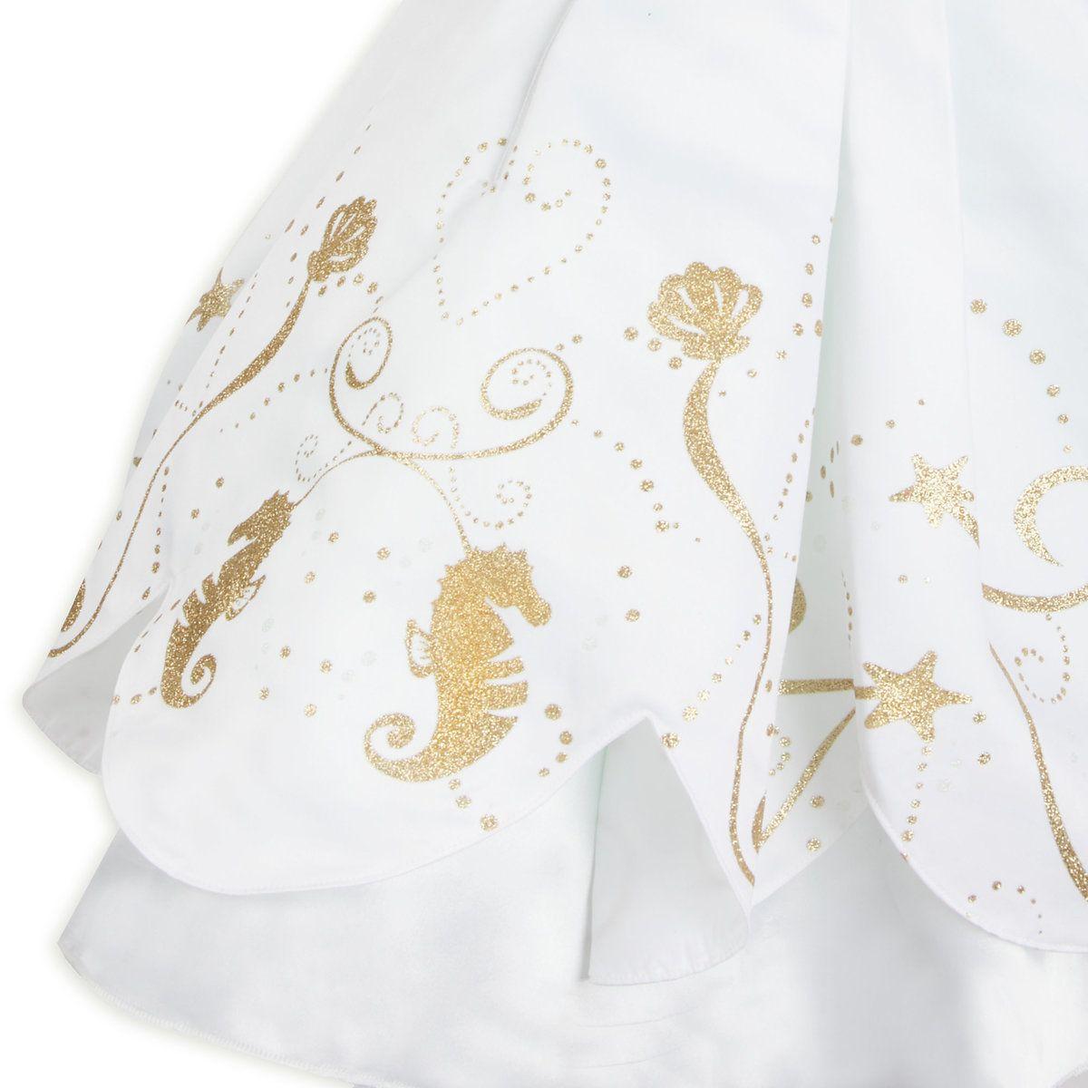 Ariel designer wedding gown costume for kids disney baby