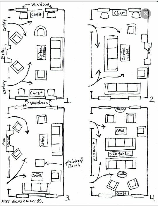 Layout Options Living Rooms Narrow Living Room