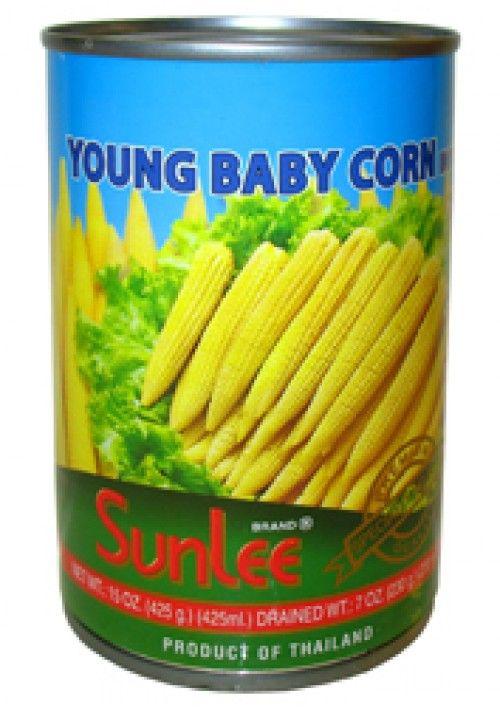 Sunlee Baby Corn 425g 泰國珍珠筍