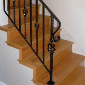 Resultado de imagen para pasamanos para escaleras flotantes cosas que me gustan para una casa - Barandas de forja para escaleras ...