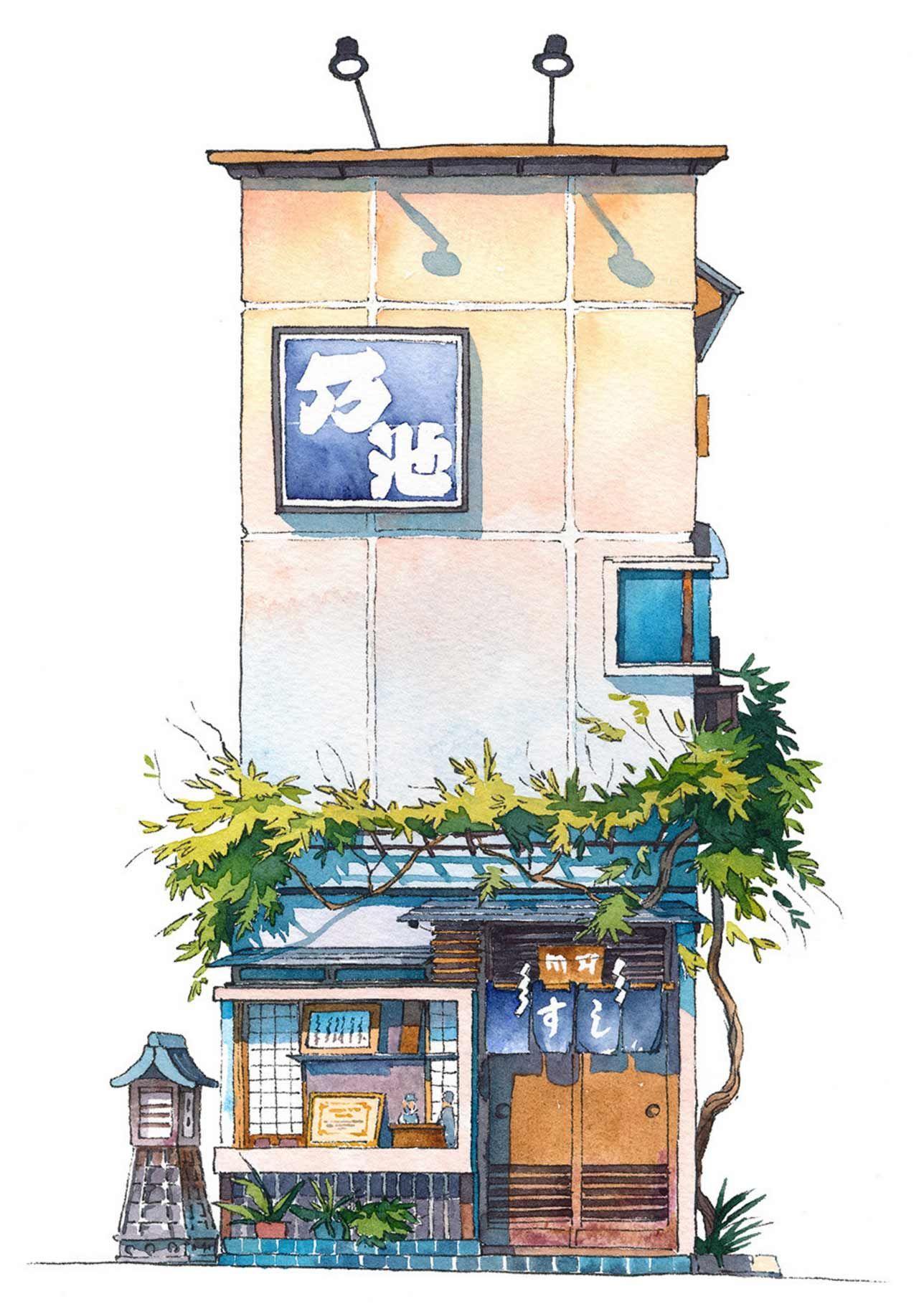 Tokyo Storefronts #arquitectonico
