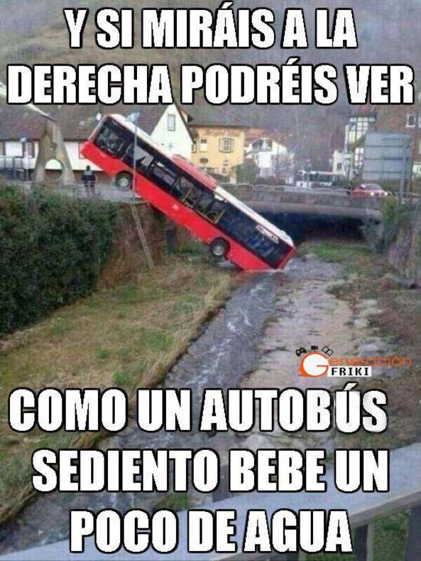 Autobus Sediento Memes Divertidos Chistes Graciosos