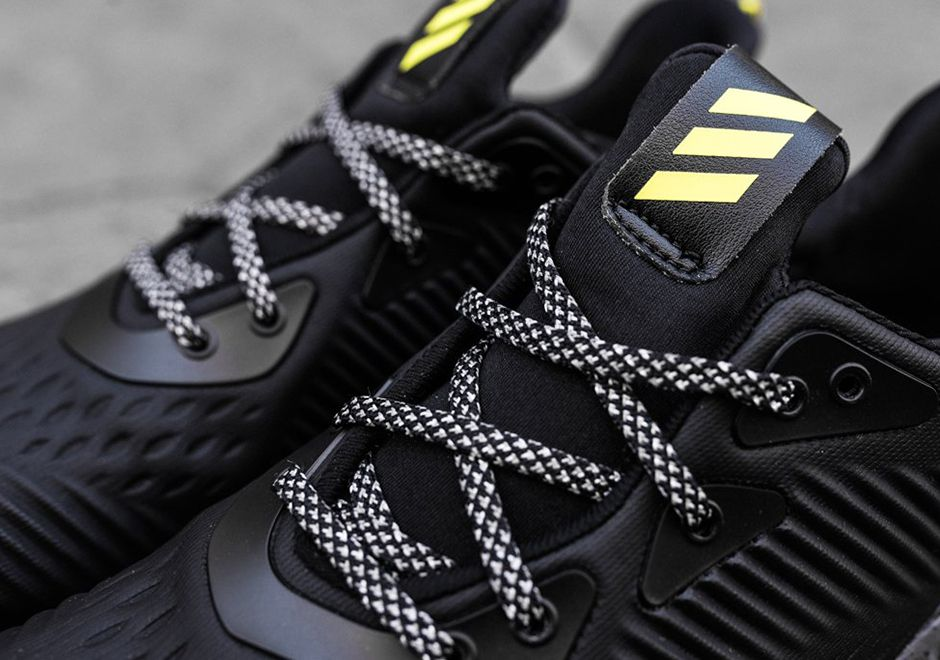 54c1dd03fdf81 adidas Alphabounce All Terrain Black Yellow BW1223 Available Now ...