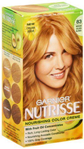 Garnier Nutrisse 83 Medium Golden Blonde Garnier Nutrisse 83