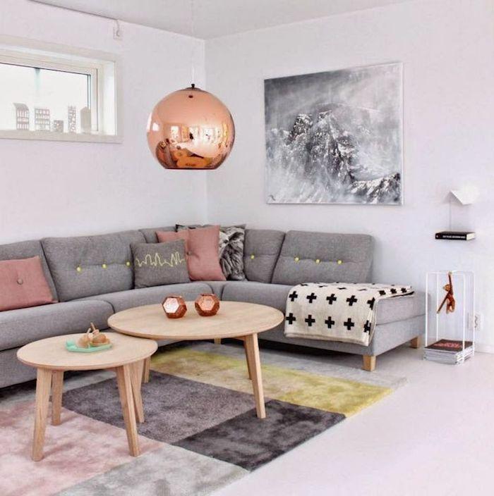 ▷ 1001 + Ideen zum Thema Welche Farbe passt zu grau? - Wohnzimmer Einrichten Grau