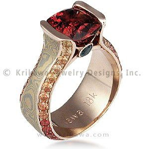 Fancy Diamond Engagement Rings