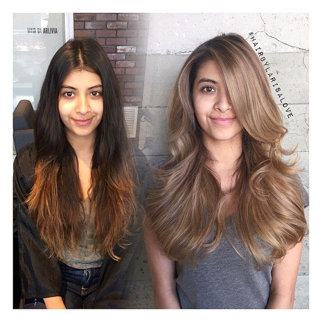 Naturally Dark Medium Neutral Beige Blonde Color Melt