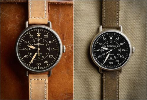 These Bell & Ross watches are great.  From what I have read, this design was taken from their pocket watch collection from the early 50's and made new in a wrist version. 46 or 47 mm I believe.