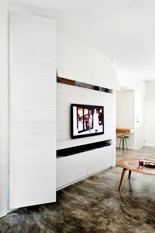 7 out-of-the-box ideas for your TV console | Living room storage ...