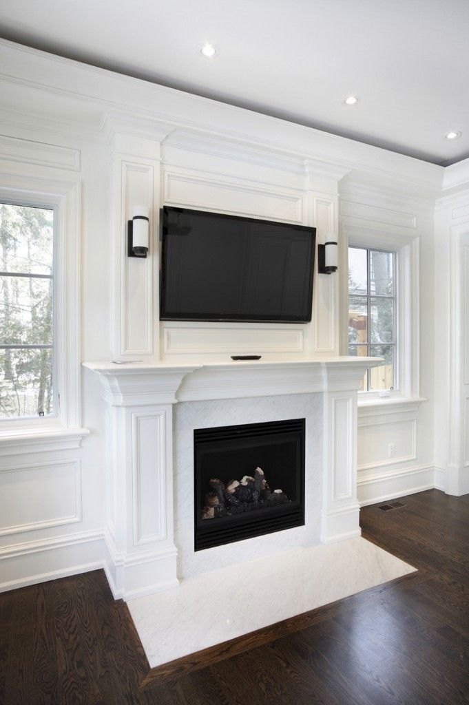 49 Exuberant Pictures of TV\u0027s Mounted Above Gorgeous Fireplaces - tipos de chimeneas