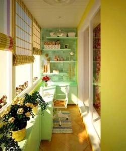 Идеи по оформлению балкона