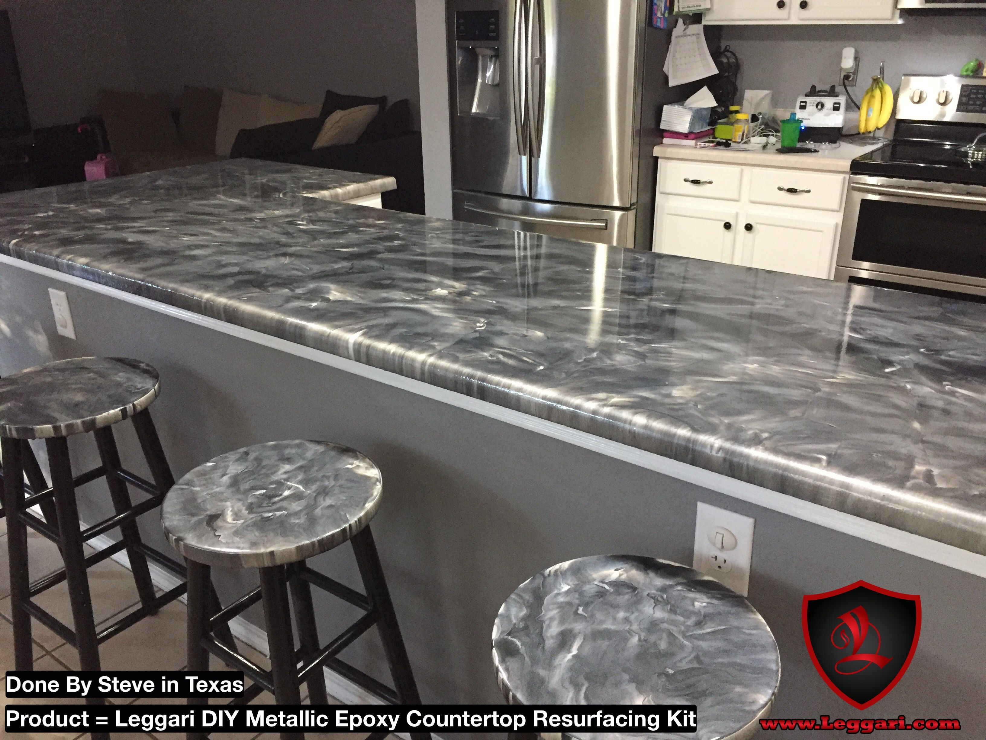 Get your kit today and coat something countertops diy