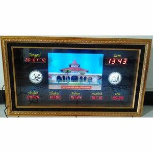 Jam Digital Masjid Jual Jadwal Sholat Digital Otomatis Murah 4