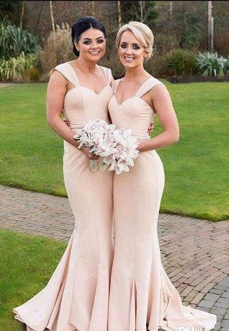 Charming Mermaid Prom Dress Bridesmaid Dresses Long Bridesmaids Sweetheart Wedding Party From Queen Club