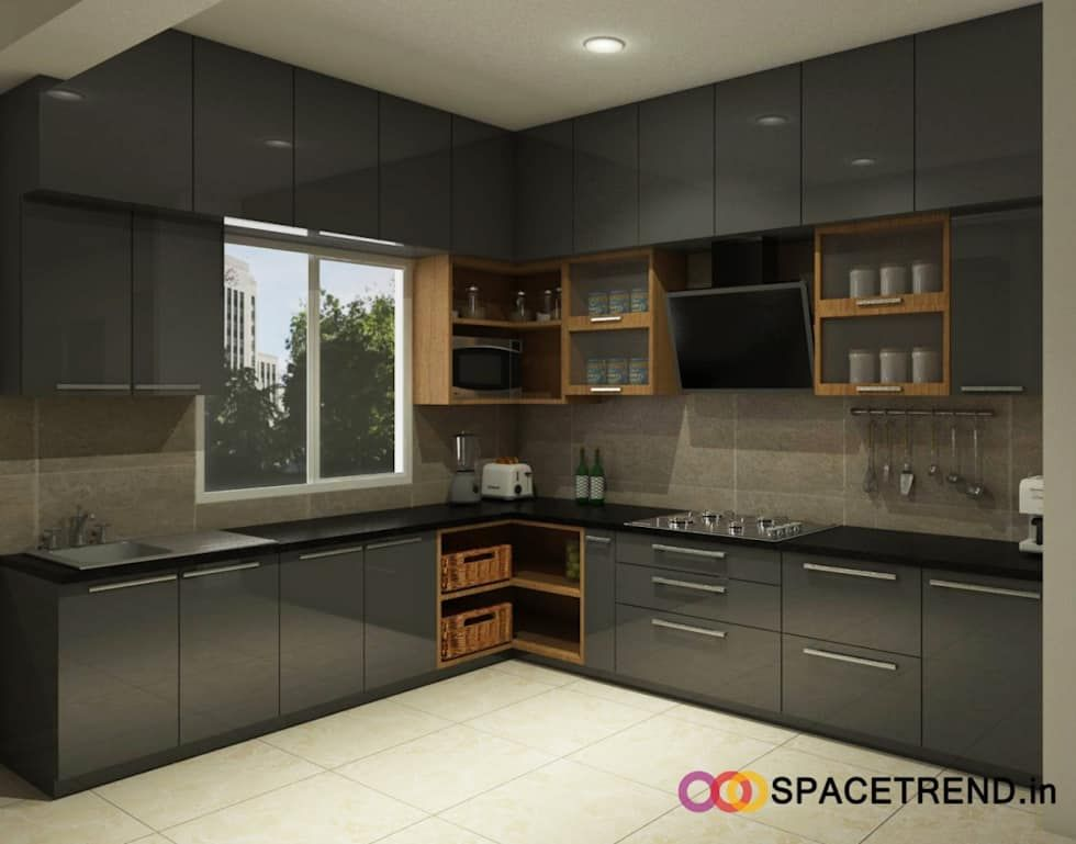 Prestige tranquility space trend built-in kitchens