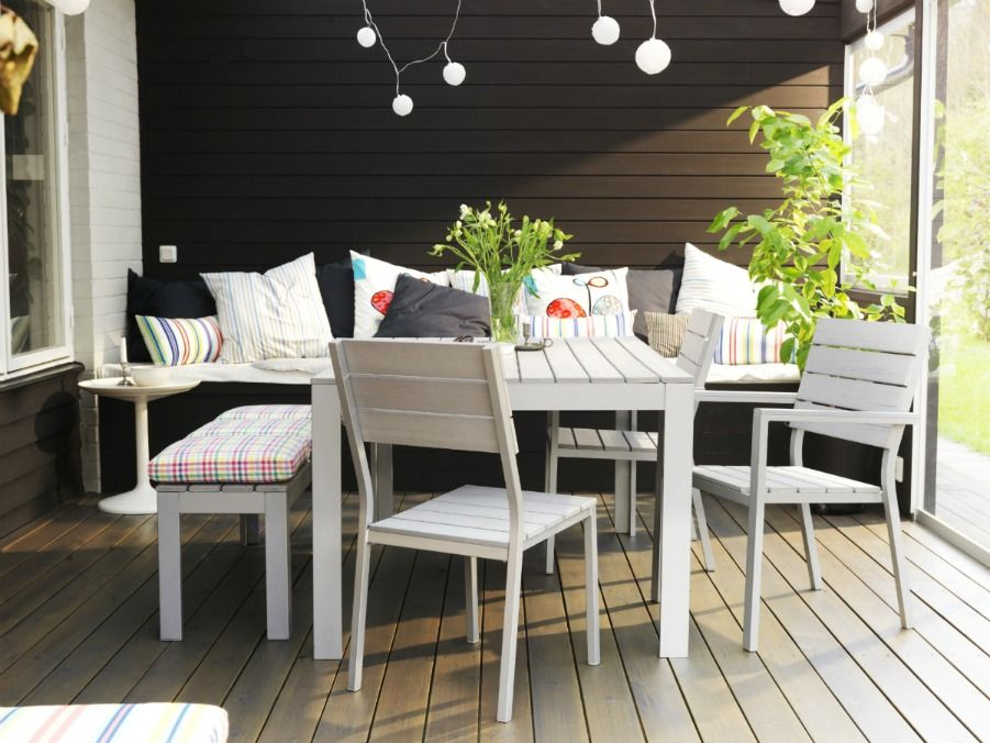 ikea falster outdoor living pinterest dining sets. Black Bedroom Furniture Sets. Home Design Ideas
