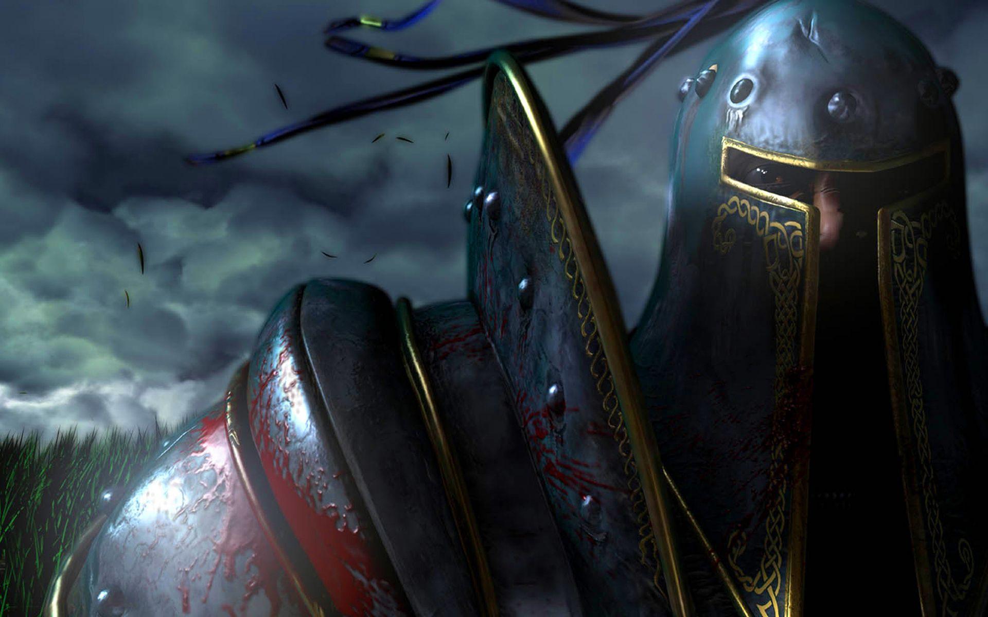 Wallpaper Warcraft Orc Knight Warrior Sword Wow Armor HD