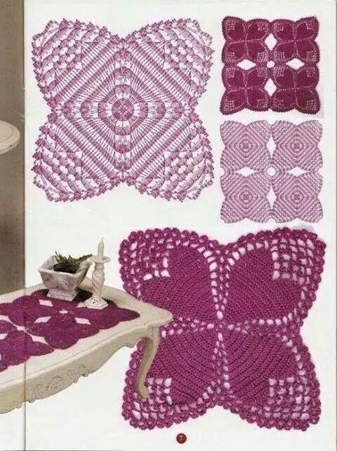 Pin von pooja Sarap auf Crochet | Pinterest | Gehäkelte herzen ...