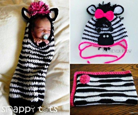 The Cutest Collection Of Zebra Crochet | Handarbeiten, Häkeln und ...