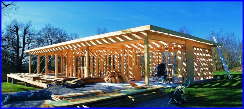 lautoconstruction et la maison ossature bois - Maison En Bois Autoconstruction