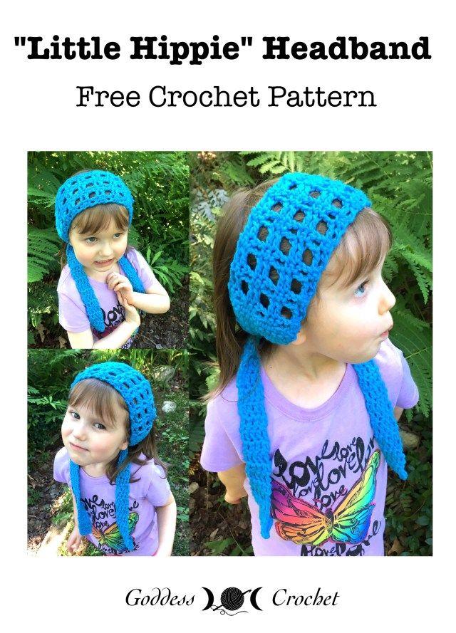 Little Hippie Headband - Free Crochet Pattern | Blogger Crochet ...