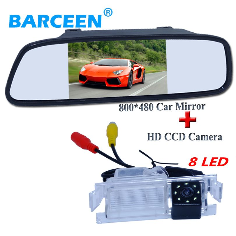 Backup CCD Rear View Car Camera With 4LED lights for Hyundai Tucson 2007-2011
