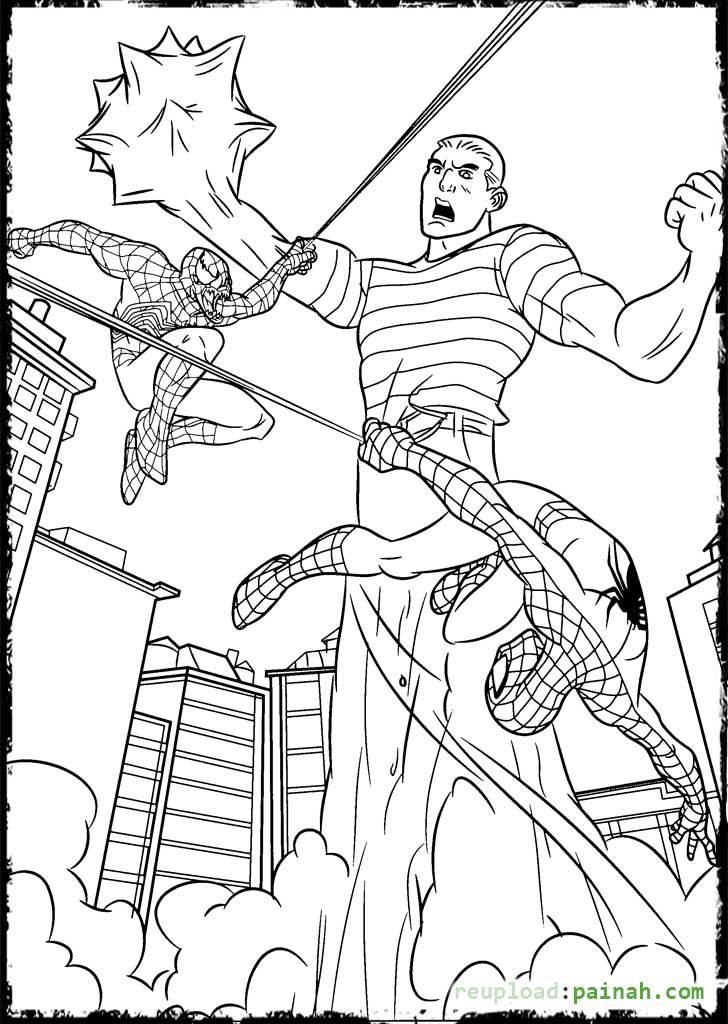 Spiderman 3 Coloring Pages Spiderman Coloring Coloring Pages For Kids Coloring Pages