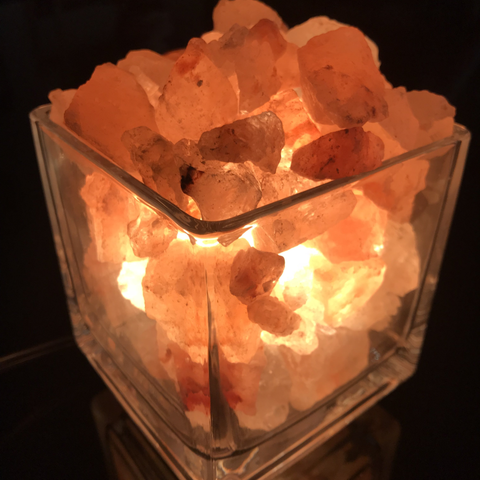 Best Christmas Gift Clear Square Himalayan Salt Lamp Salt Lamp