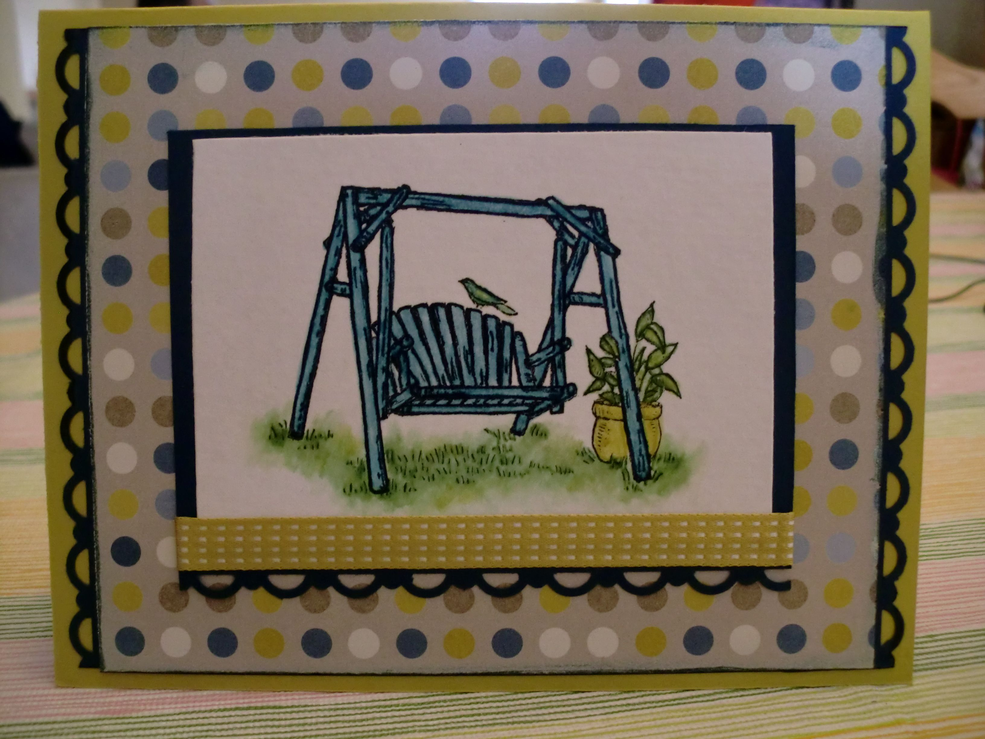 Stampin Up summer afternoon card retirement