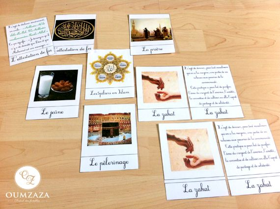 five pillars of Islam nomenclature (french) Ramadhan nomenclature: http://makimura78.wordpress.com/2013/01/03/nomenclature-made-in-makimura/