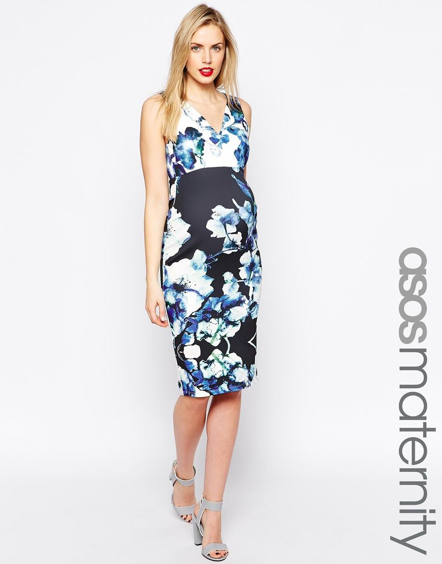 Best Bump: Jaime King's Maternity Style | Floral maternity dresses ...
