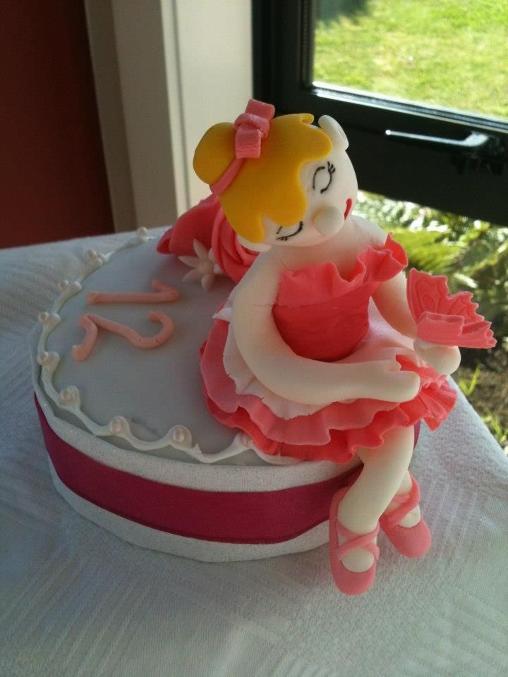 A lovely cake for a little 12 year old girl who adores