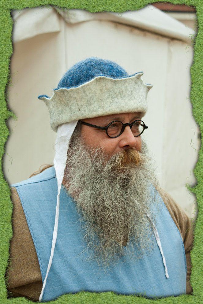 Männer mittelalter kopfbedeckungen Kopfbedeckung